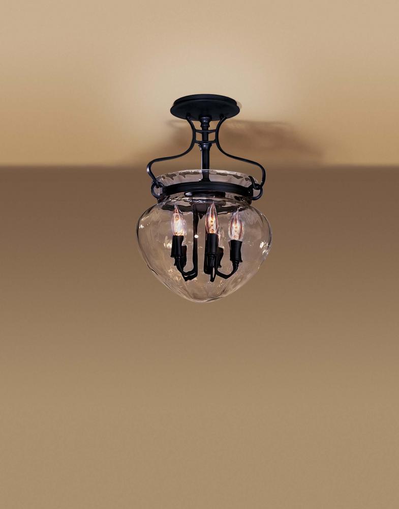 Hubbardton Forge Acharn Semi Flush Mount